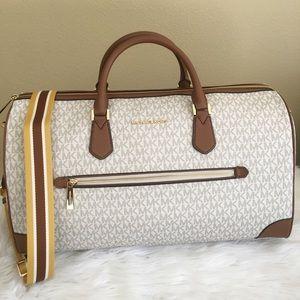 New Michael Kors Travel Luggage duffle Bag